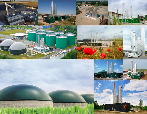 Malmberg Biogas upgrading collage